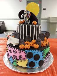 nightmare before christmas cake decorations impressive decoration nightmare before christmas cake ideas