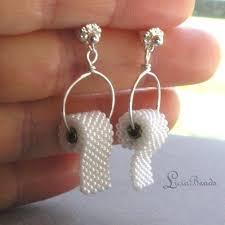 strange earrings jewelry tiny toilet paper roll earrings