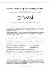 Business Requirements Document Template Pdf 40 Private Placement Memorandum Templates Word Pdf