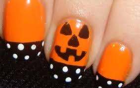 Halloween Nail Art Pumpkin - how to create pumpkin nails for halloween beauty