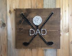 golf string art gift dad christmas present gift for dads