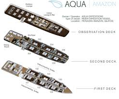 cruise ship floor plans aqua amazon cruise ship facts cruise line facts aqua expeditions