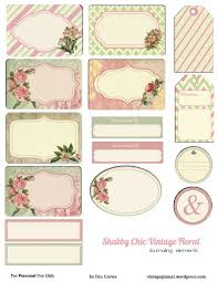 Shabby Chic Website Templates by Free Printable Download Shabby Chic Floral Journaling Elements
