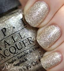 opi carey 2013 glitter gold swatches review
