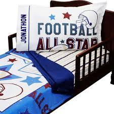 Sports Toddler Bedding Sets Football Bedding All Sports Toddler Bed Set