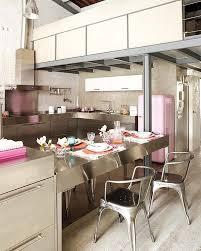 minimalist kitchen design in loft interior design architecture