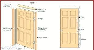 How To Install A Prehung Exterior Door Prehung Installing A Hung Door Prehung Interior Doors 36