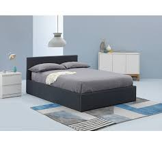 Grey Ottoman Bed Buy Hygena Lavendon Small Double Fabric Ottoman Bed Frame Grey