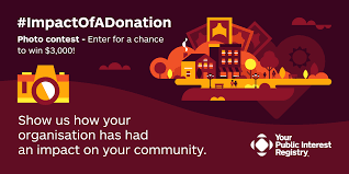 every dollar counts participate in our impactofadonation contest