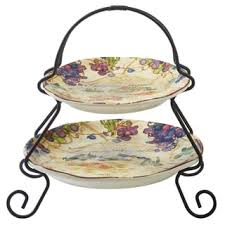 adjustable 3 tier buffet server free shipping today overstock