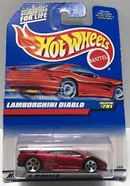 matchbox lamborghini veneno tas033977 1997 mattel wheels mattel wheels series