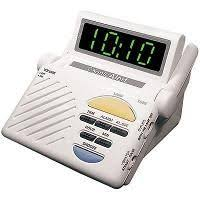 Talking Clock For The Blind Reizen Talking Clock With Large Lcd Display And Vibrating Alarm