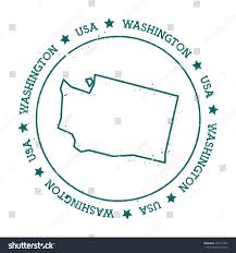 Washington State Detailed Map Stock by Vector Map Of United States Of America With States Single Color