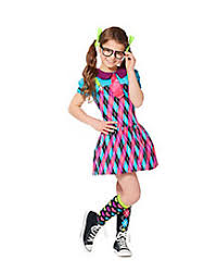Halloween Costumes Nerd Schoolgirls Kids Costumes U0026 Nerds Kids Costumes Spirithalloween