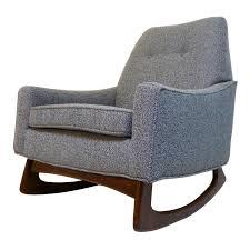 Gray Rocking Chair Vintage U0026 Used Gray Rocking Chairs Chairish