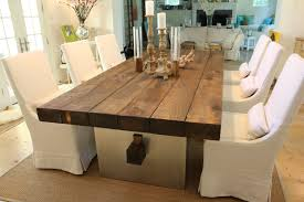 Modern Wood Dining Room Tables Custom Barn Wood Dining Table By J R Signature Creations