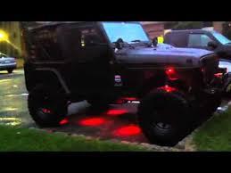 jeep wrangler rock lights vision x rock lights youtube