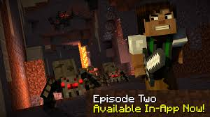 minecraft story mode season two android apps on google play