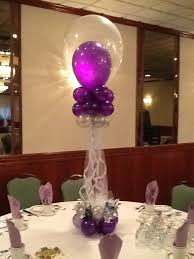 sweet sixteen centerpieces a balloon creation inc sweet 16 centerpiece