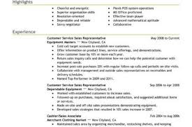 Resume Objectives Examples For Customer Service by Examples Customer Service Resume Objective