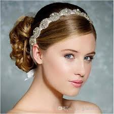 vintage bridal hair silver headbands handmade bridal hair accessories vintage