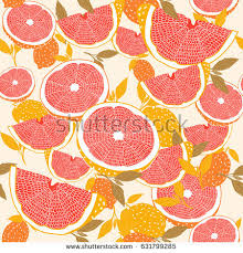 seamless lemon pattern seamless lemon pattern lemon fruits background stock vector