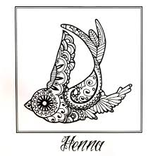 danielle flores art henna bird drawing at totem tattoo in grand