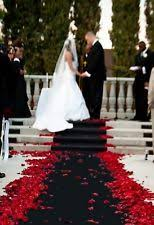 black wedding aisle runners ebay