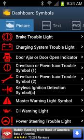 toyota corolla warning signs vehicle dashboard symbols android apps on play