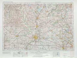 Road Map Of Illinois by Rockford Topographic Maps Il Wi Usgs Topo Quad 42088a1 At 1