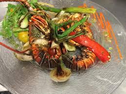 cuisine langouste plancha langouste à la plancha picture of la marenda argeles sur mer