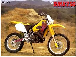 1998 factory suzuki rm250 of larry ward motocross motocross