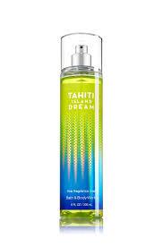 amazon com bath body works signature shower gel 10oz tahiti bath and body works tahiti island dream fine fragrance mist 8 ounce