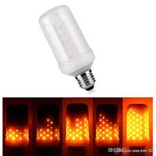 led flame effect fire light bulbs e27 2835smd 7 5w 3 modes led flame effect fire light bulbs