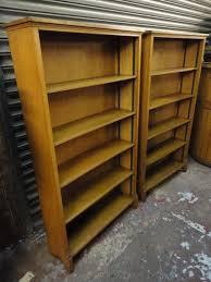 Oak Bookshelves by Pair Of Oak Bookshelves 179202 Sellingantiques Co Uk