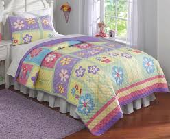 girls cowgirl bedding purple pink green floral bedding twin full queen quilt or