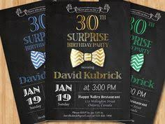 30th birthday invitation beer party invitations chalkboard 30th
