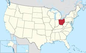 Large Map Of United States by List Of Cities In Ohio Wikipedia