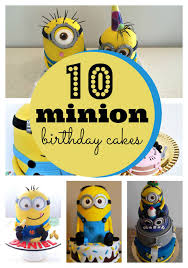 Minion Cake Decorations 10 Amazing Minion Birthday Cakes Pretty My Party