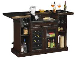 Bars Furniture Modern by 693030 Rustic Hardwood Wine And Bar Console Furnishings Howard Miller