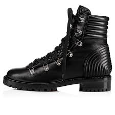 mad boot nappa shiny black lambskin women shoes christian
