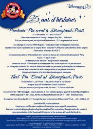 bureau de change disney disneyland 25th anniversary pin event disney pins