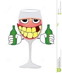 cartoon wine glass drinking glass of wine cartoon stock illustration image 44307618