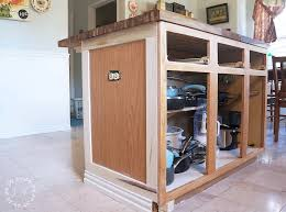 a kitchen island how to customize a kitchen island with trim lost found