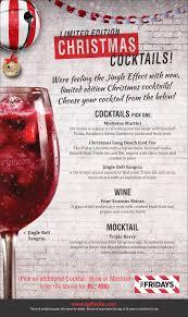christmas cocktails tgif india