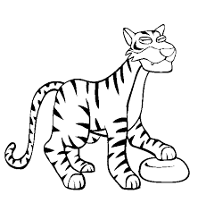 tiger coloring tiger free printable coloring pages animals