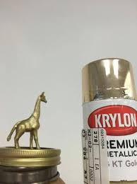 metallic spray paint 8 ounces 18 karat gold walmart com