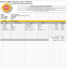 household inventory list template sports business letters business