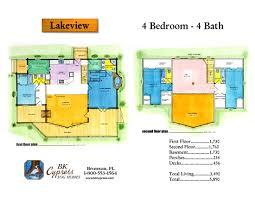 apartments lake view floor plans lake view bk cypress log homes
