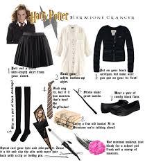 hermione diy halloween costume